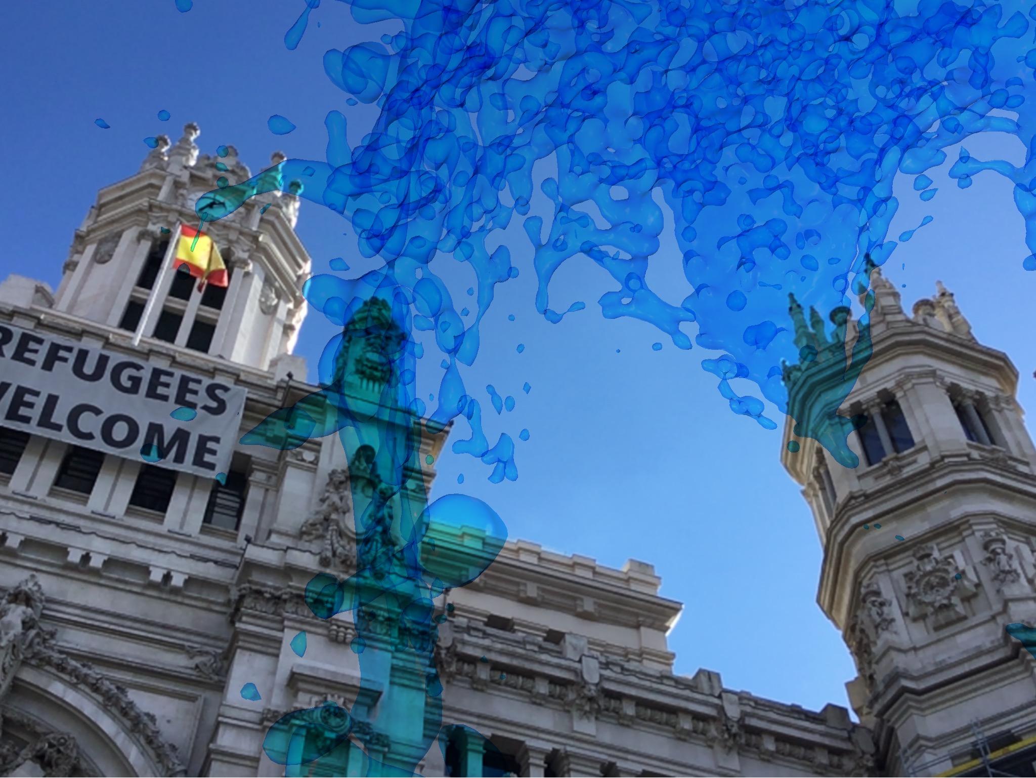 Aran-augmented-reality-art-network-developed-by-nemaniax.com-cibeles-madrid